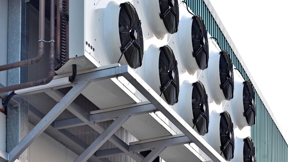 Plassering har stor betydning for hvor mye støy som kommer fra tørrkjølere.