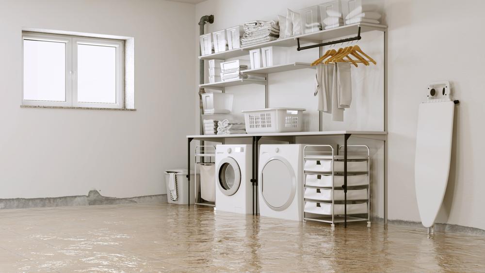 oversvømmelse rørlegger vb