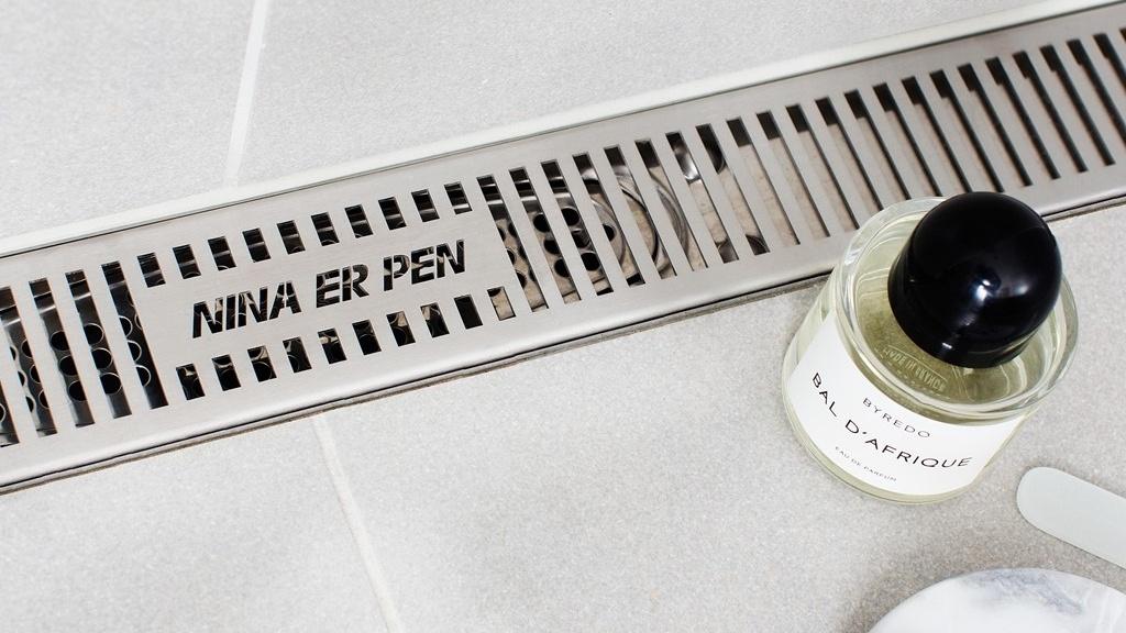 Hva sier sluket på badet ditt om deg? Designsluk fra Purus Joti.