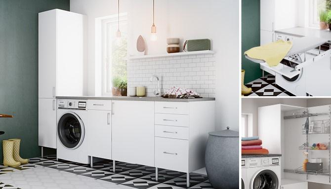 Hvordan planlegge et effektivt og flott vaskerom?
